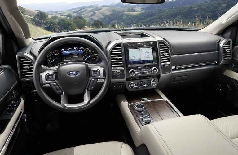 2020 Ford Expedition interior front view