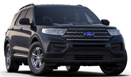 2020 Ford Explorer Agate Black