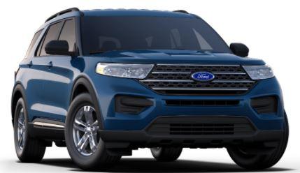 2020 Ford Explorer Atlas Blue