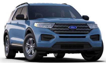 2020 Ford Explorer Blue