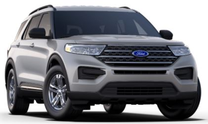 2020 Ford Explorer Iconic Silver