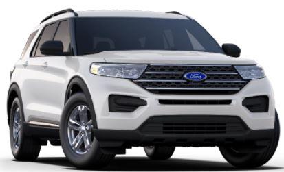 2020 Ford Explorer Oxford White