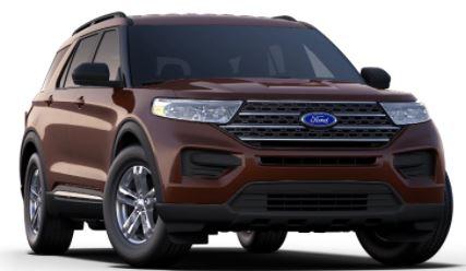 2020 Ford Explorer Rich Copper