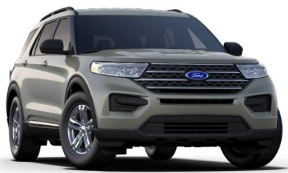 2020 Ford Explorer Silver Spruce