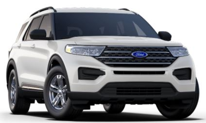2020 Ford Explorer Star White