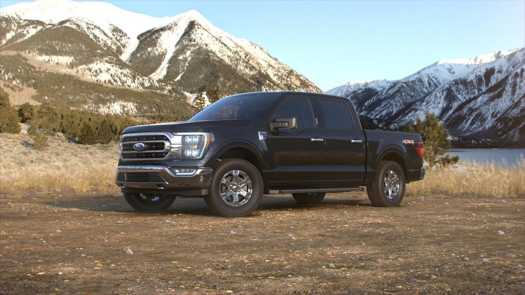 2021 Ford F-150 Agate Black