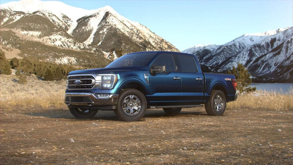 2021 Ford F-150 Antimatter Blue