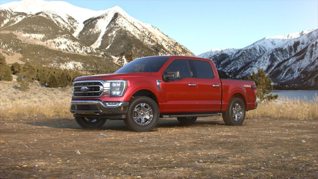 2021 Ford F-150 Rapid Red