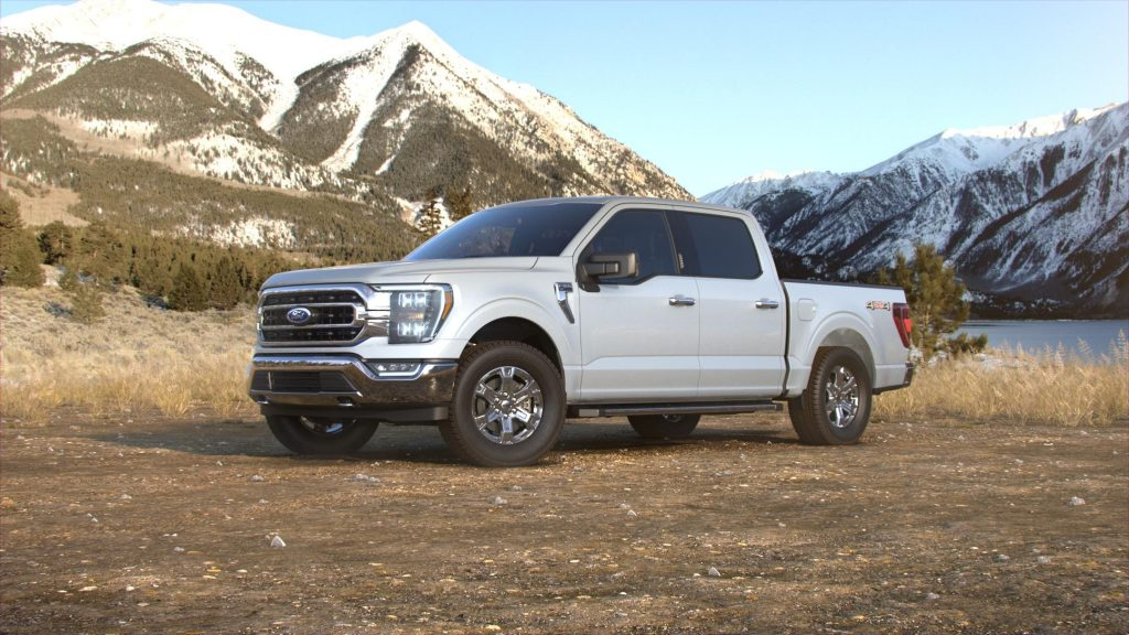 2021 Ford F-150 Space White