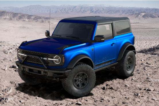 2021 Ford Bronco Lightning Blue