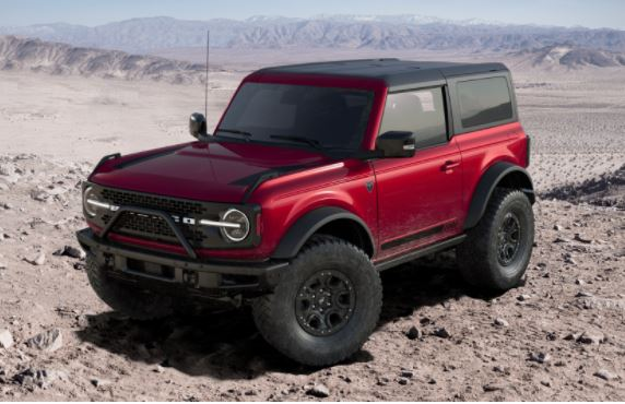 2021 Ford Bronco Rapid Red