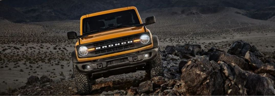 What Safety Systems are on the 2021 Ford Bronco?