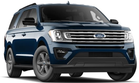 2021 Ford Expedition Antimatter Blue