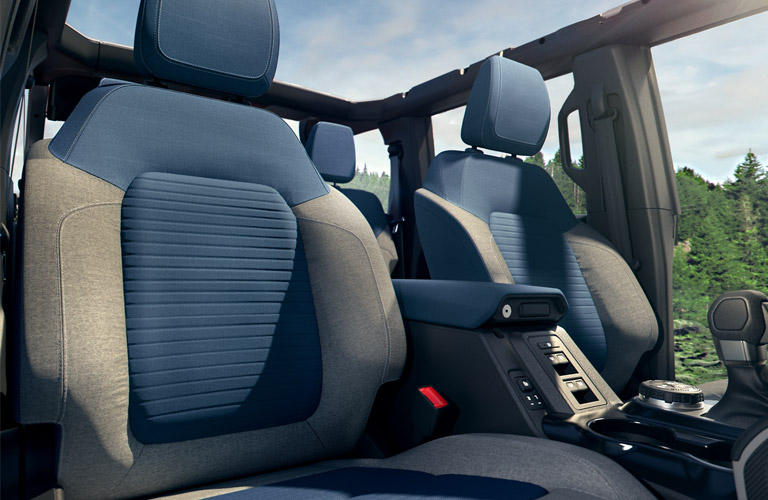 2021 Ford Bronco Outer Banks seating