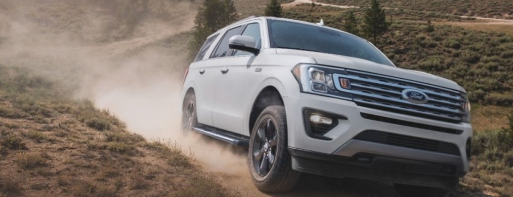 2021 Ford Expedition on the road