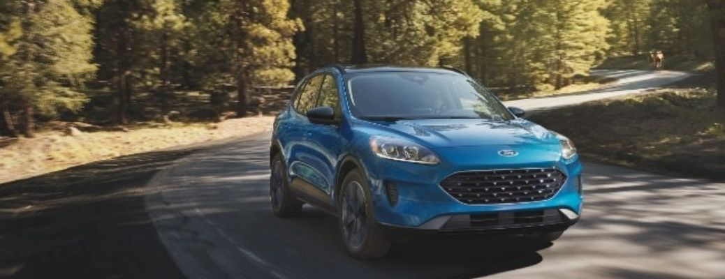 What color options are available for the 2021 Ford Escape?
