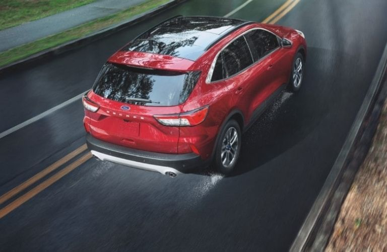 2021 Ford Escape on the road