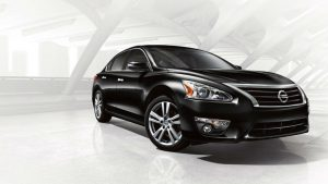 2014 Nissan Altima Exterior Passenger Side Front Angle