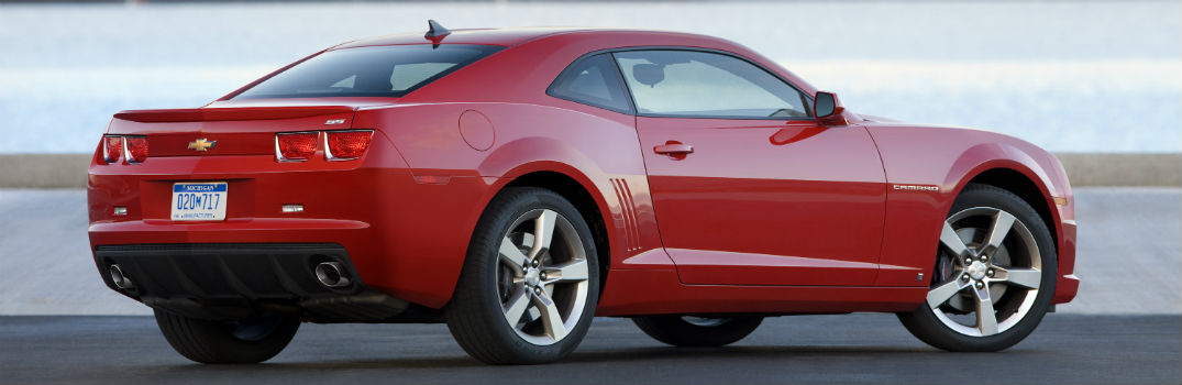 2010 Chevy Camaro Exterior Passenger Side Rear Profile