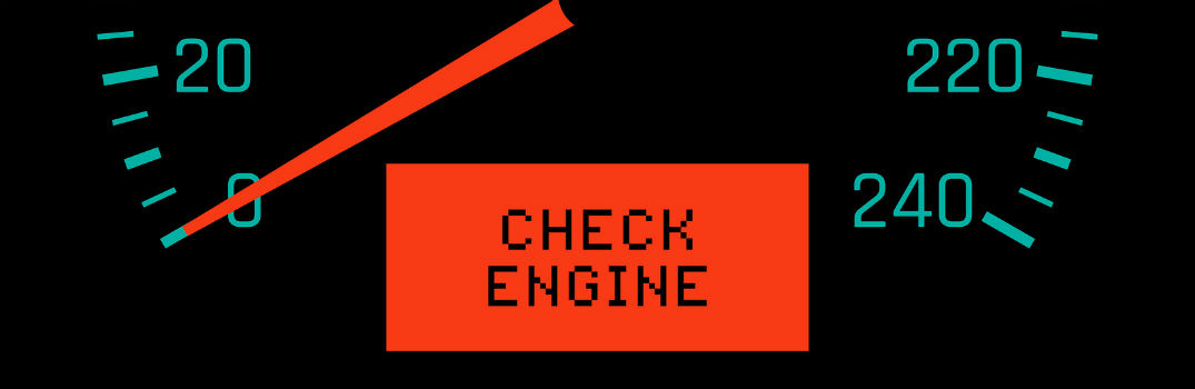 Check Engine Light Message Under Speedometer