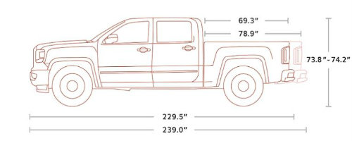 What Are The Different Cab Types For The 2018 Gmc Sierra