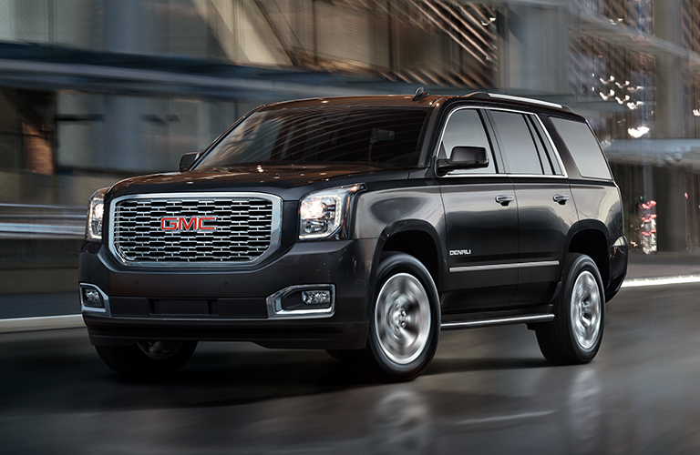 what are the differences between the trim levels of the 2018 gmc yukon. Black Bedroom Furniture Sets. Home Design Ideas