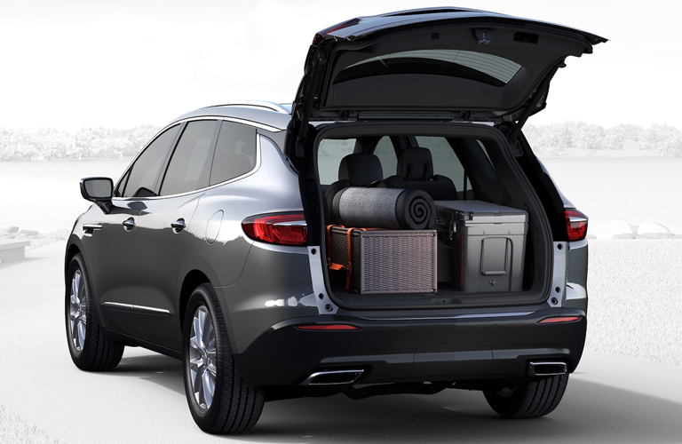 How Much Space Does The 2019 Buick Enclave Interior Offer