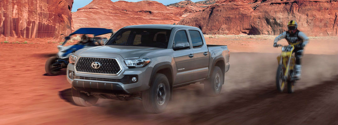 Interior And Exterior Color Options Available For The 2018 Toyota Tacoma