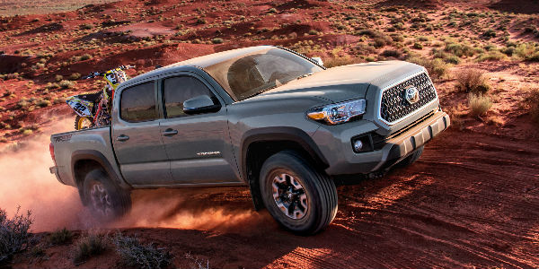 What is the 2018 Toyota Tacoma Maximum Towing Capacity?