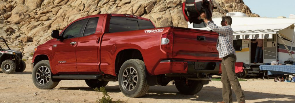 2019 Toyota Tundra cargo volume and towing capabilities