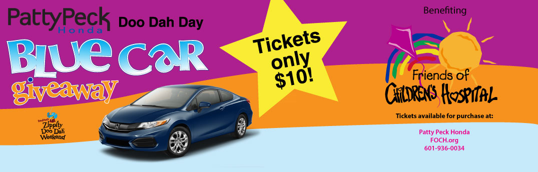 Honda Civic Giveaway to Support Batson Children's Hospital