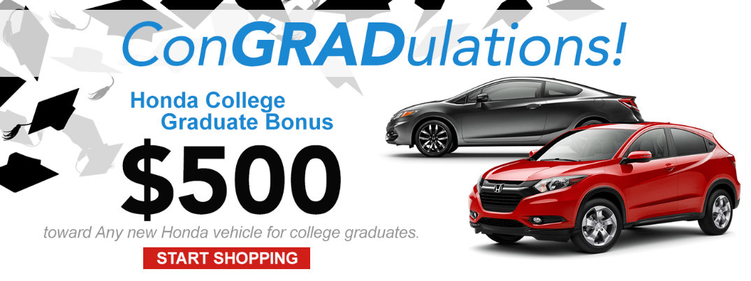 College Graduates Can Get A Great Discount On A New Honda Car