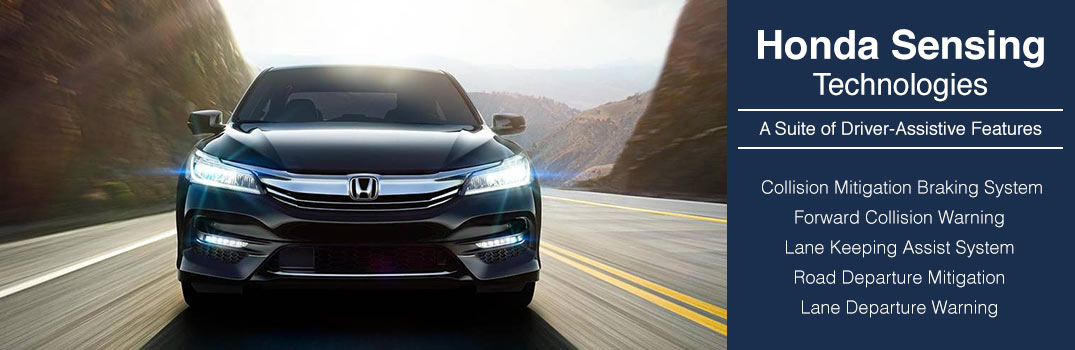 Learn About The Honda Sensing Suite On The 2016 Accords