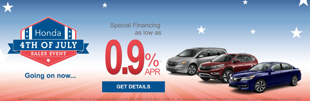 Honda 4th Of July Sales Event In Jackson Ms