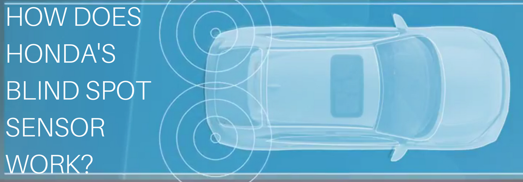 How does the Honda Blind Spot Information System work?