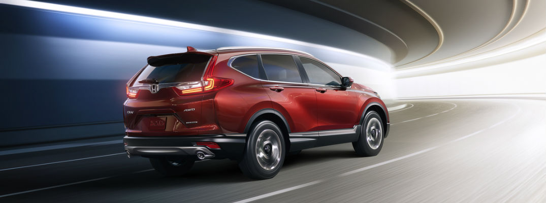 What's the difference between the 2016 Honda CR-V and the 2017 Honda CR-V?