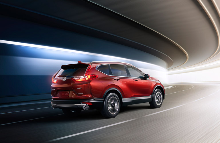 2017 Honda CR V In Red