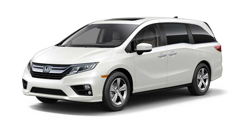 2018 honda white. 2018 honda odyssey in white diamond pearl