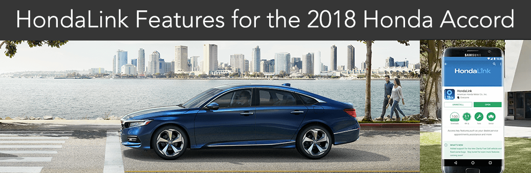 2018 Honda Accord HondaLink Free, Subscription Services