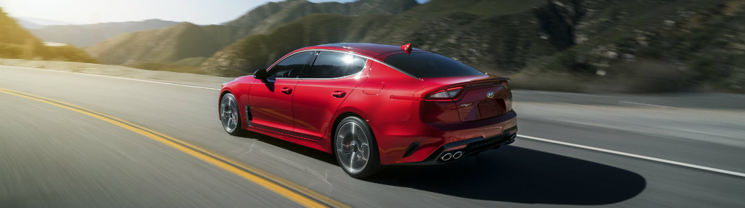 2018 Kia Stinger Red Back