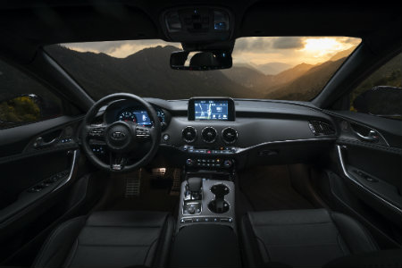 2018 Kia Stinger interior