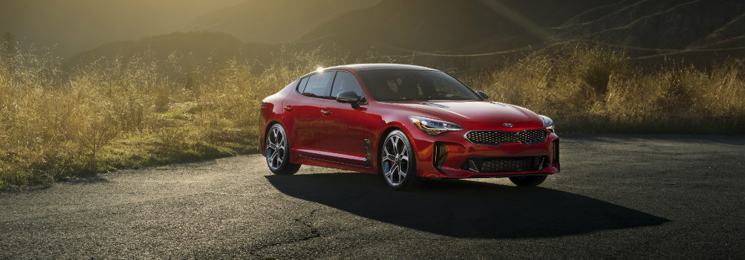 2018 Kia Stinger Engine Options and Performance
