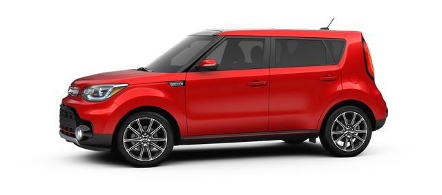 2018 Kia Soul Exclaim Inferno Red_o