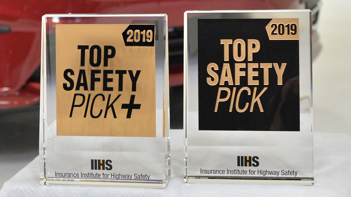 Kia Dominates 2019 IIHS Safety Picks