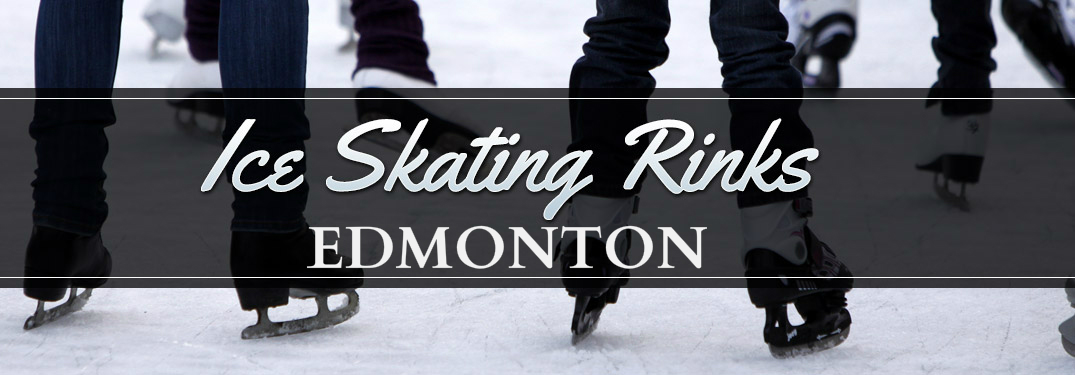 Ice Skating Rinks Edmonton Title and People Ice Skating