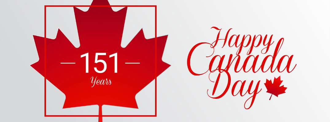 Happy Canada Day 151 years featured image