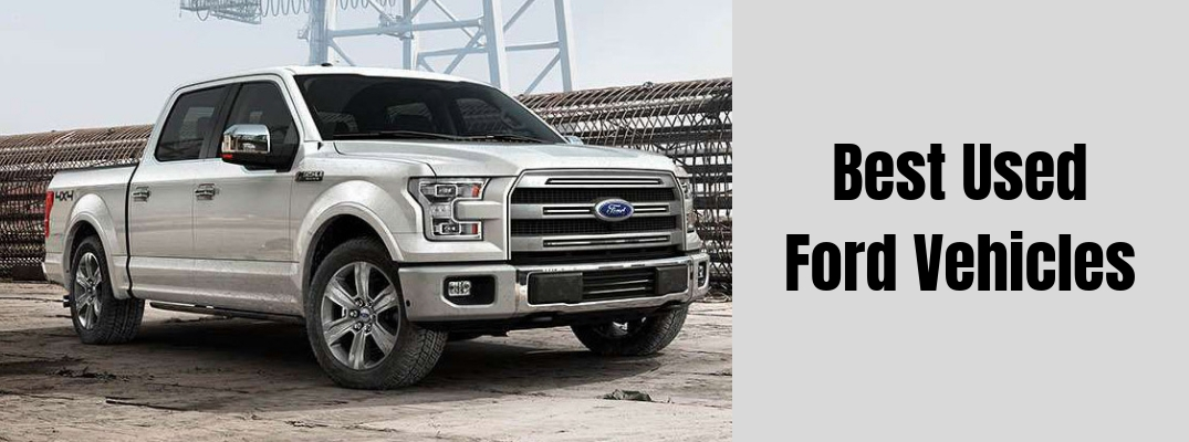 What are the Best Ford Vehicles Currently on the Road?