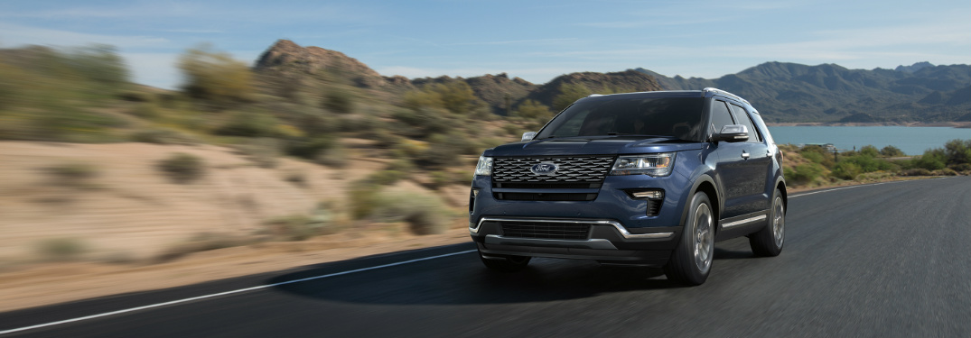 2018 Ford Explorer Seating Capacity And Cargo Space