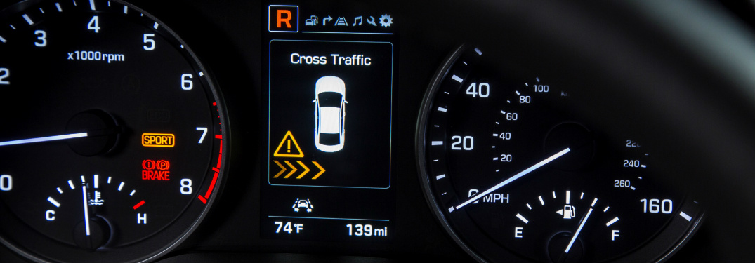 What are the Hyundai dashboard warning lights and what do