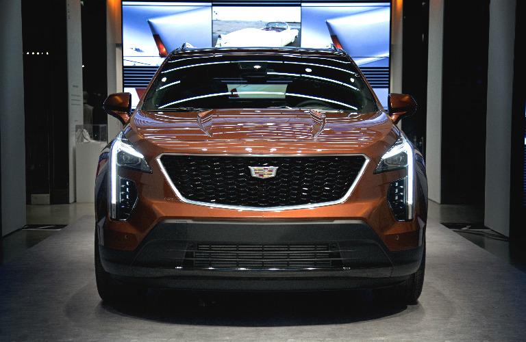 2019 Cadillac XT4 front fascia